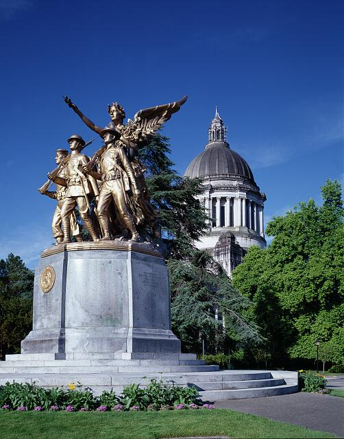 Capitol World War I Statue, Olympia, Washington