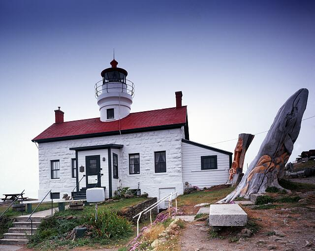 Lighthouse at Battery Point, California