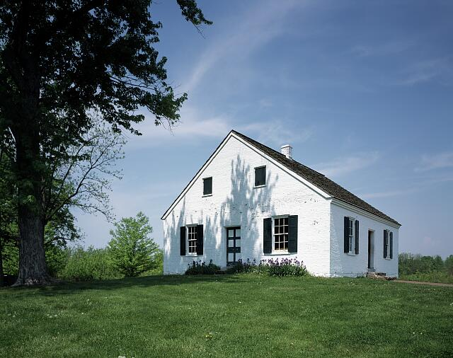 Dunker Church, Antietam Battlefield, near Sharpsburg, Maryland
