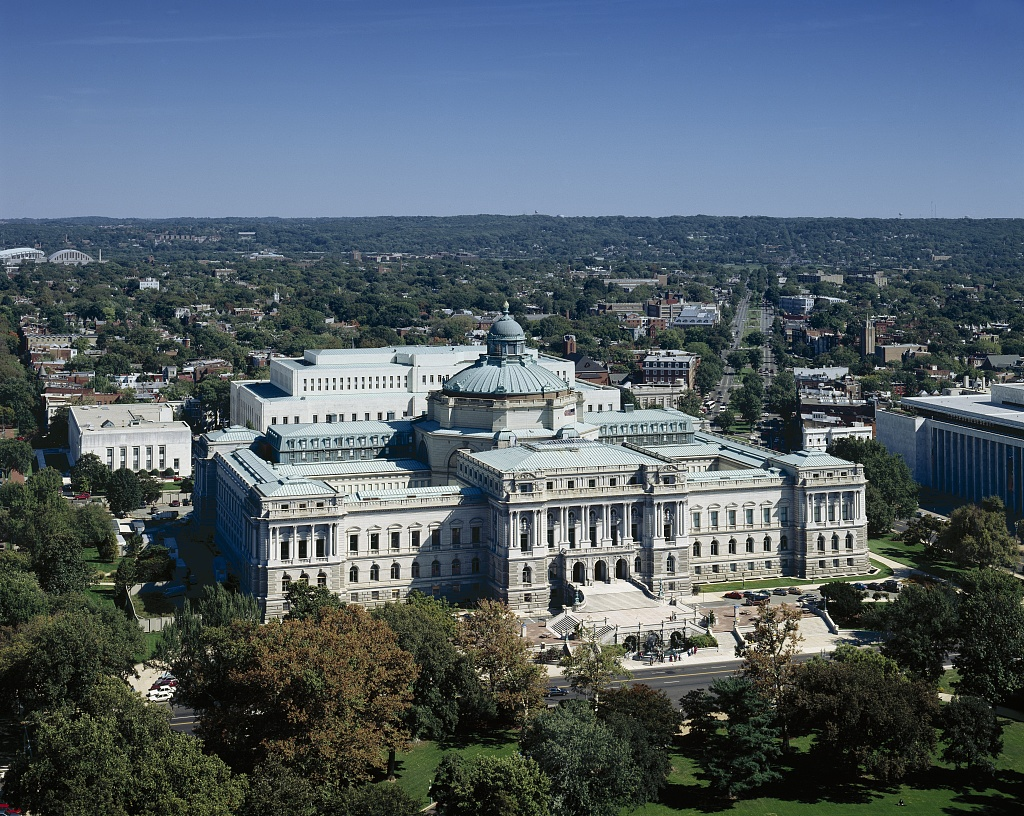 Library of Congress photographed by Carol Highsmith