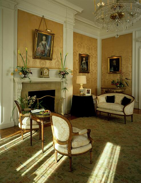 Sitting room in the residence of the Ambassador of Spain, Washington, D.C.