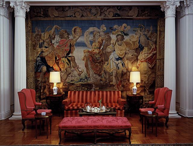 Detail in the residence of the Ambassador of Spain, Washington, D.C.