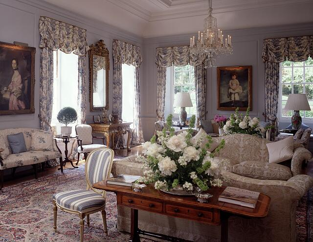 Sitting room in the Chancery and residence of the Ambassador of the United Kingdom, Washington, D.C.