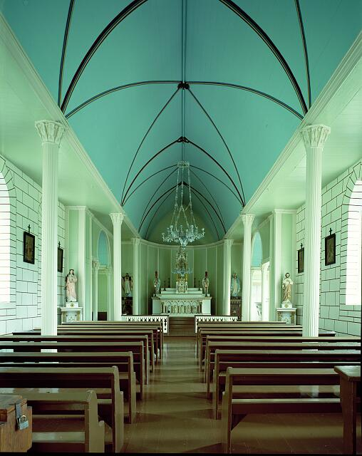 Saint Philomena Church, in Kalawao, on the Island of Molokai, Hawaii