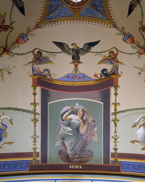 Allegorical mural with Venus at the U.S. Capitol, Washington, D.C.