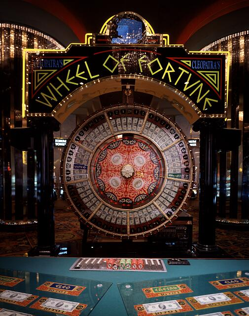 A variation on roulette, in which one picks a number, and the house spins a wheel. Las Vega, Nevada