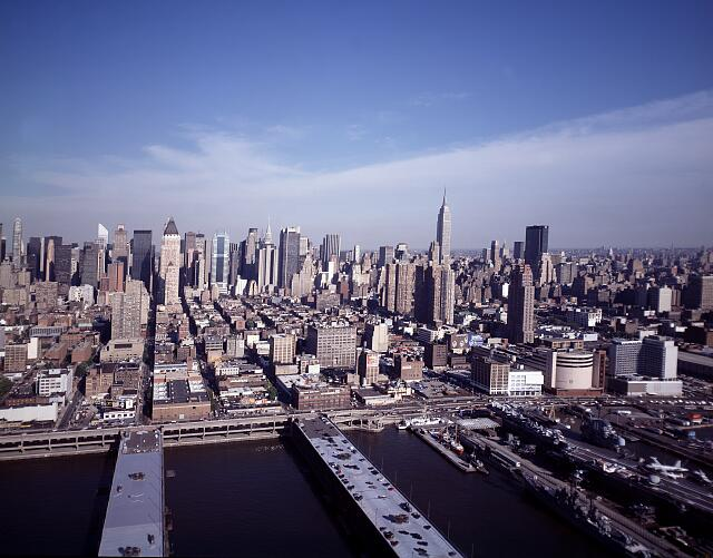 Aerial of New York, New York