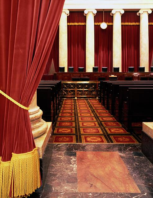 Chamber in the U.S. Supreme Court, Washington, D.C.