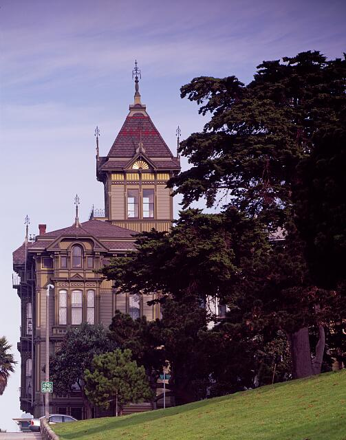 Westerfield House on Alamo Square, San Francisco, California