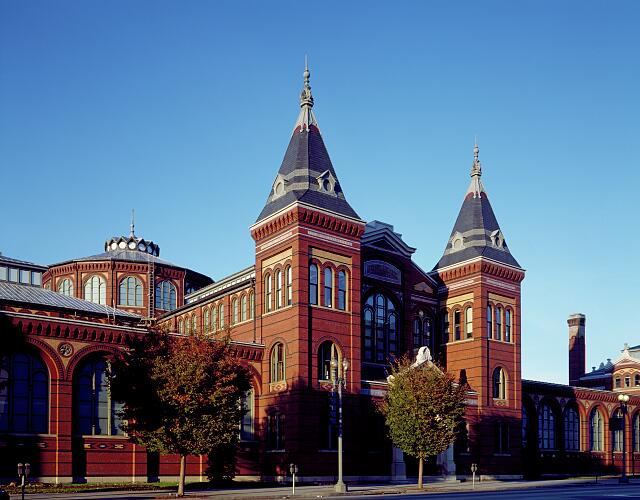 The Smithsonian Institution's Arts and Industries Building on the National Mall, Washington, D.C.