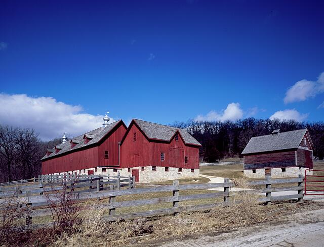 Luther College in Decorah, Iowa, tends to this barn, which was once a working farm museum