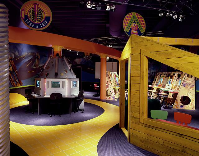 Playroom at a children's computer center, Rockville, Maryland