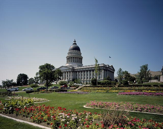 Capitol building, Salt Lake City, Utah