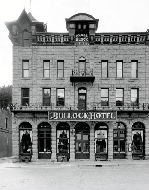 The Bullock, Deadwood, South Dakota's oldest hotel