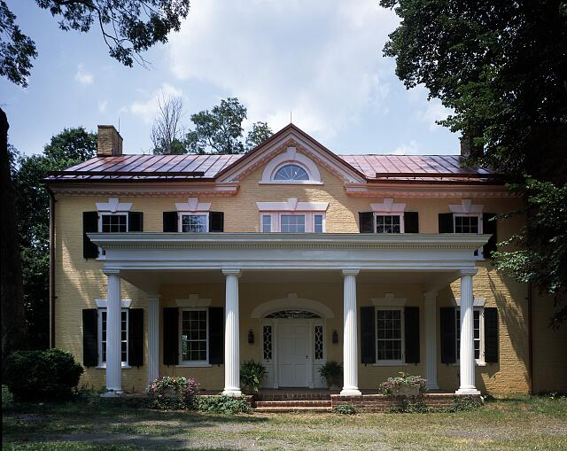 Dodona Manor, weekend retreat of George C. Marshall and his wife in Leesburg, Virginia