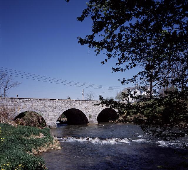 Rose's Mill Bridge over Antietam Creek, completed in 1839