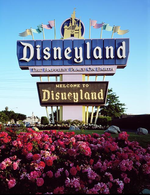 The Disney empire began at Disneyland in Orange County, California, in 1955