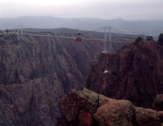 The Royal Gorge over the Arkansas River, Cañon City, Colorado