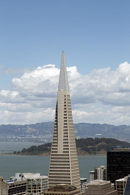 [View of Transamerica Pyramid, San Francisco, California