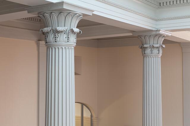 Columns, U.S. Custom House in New Orleans, Louisiana