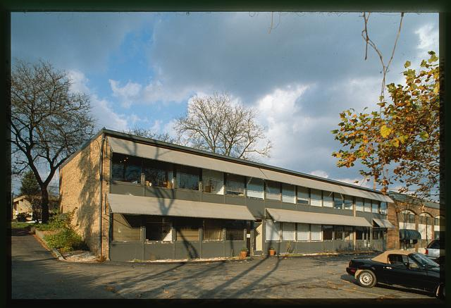 Eero Saarinen and Associates office (Bloomfield Hills, Michigan, 1953)