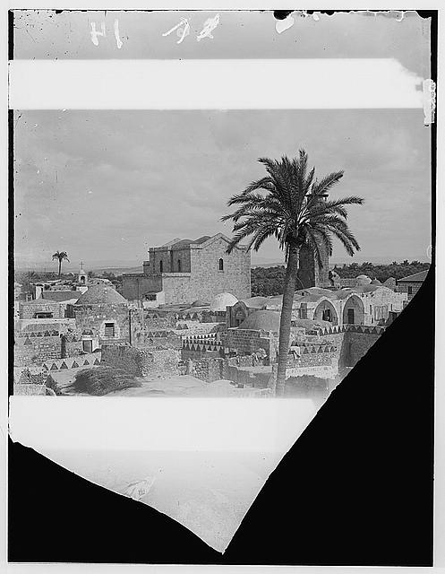 Jaffa to Jerusalem. Lydda and the Church of St. George