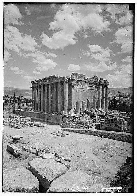Baalbek. Temple of Bacchus