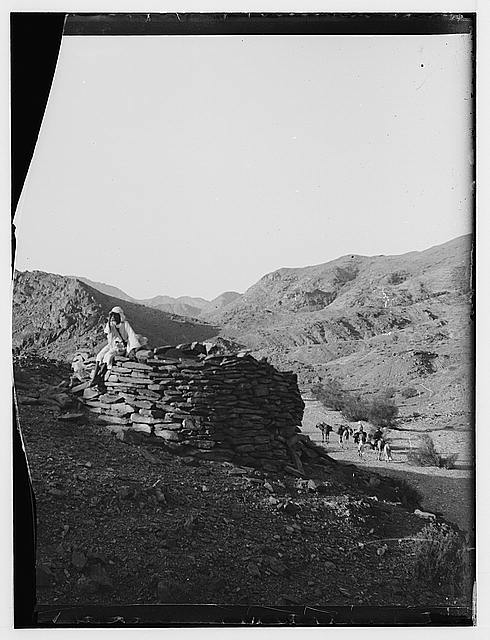 To Sinai via the Red Sea, Tor, and Wady Hebran. Nawamis, near view
