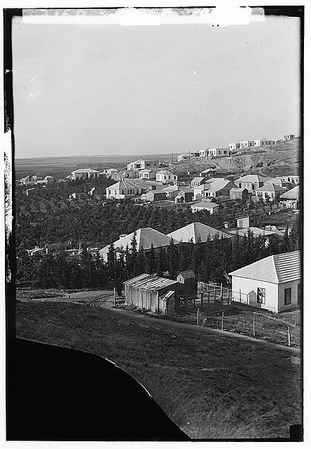 Zionist colonies on Sharon. Bnai Brak. Closer view