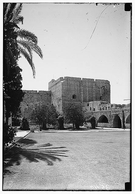 Akka (Acre, Accho). The crusader castle. Now the Palestine penitentiary
