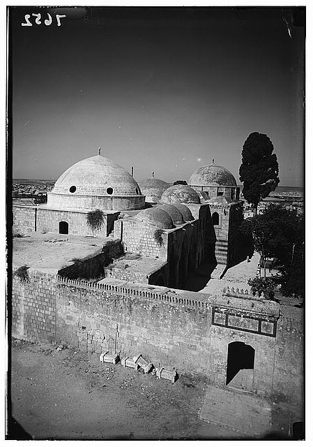 Aleppo. Shrine of Abu Bekir. Closer view