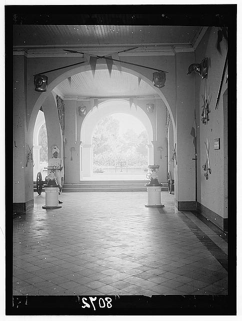 Sudan. Khartoum. Lobby of the Palace