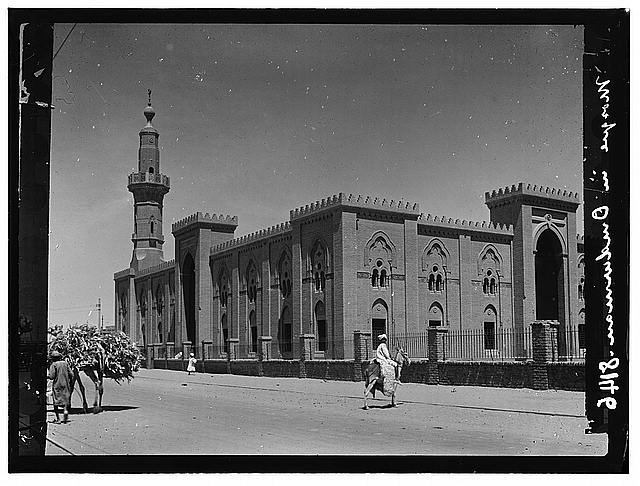 Sudan. Omdurman. The main mosque