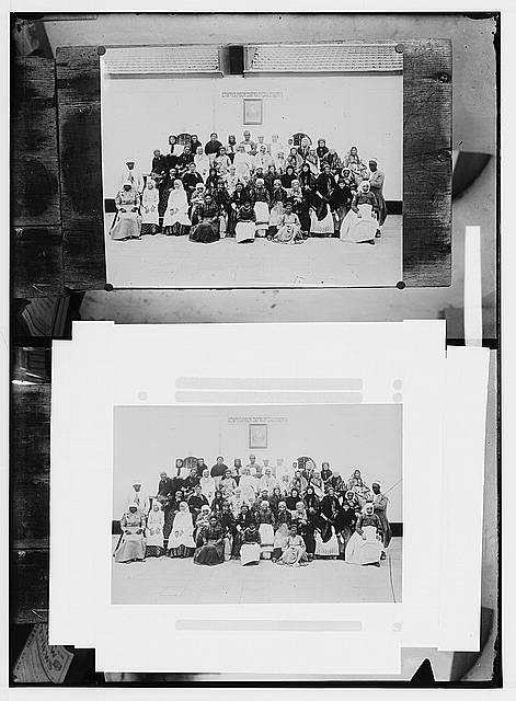 Costumes, characters, etc. Group of Jewish women