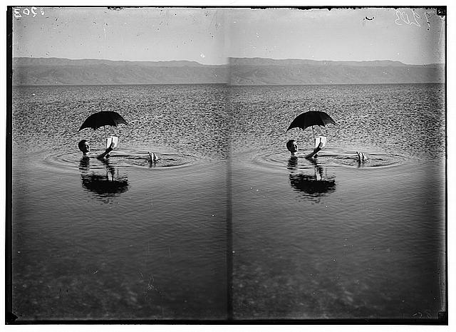 Dead Sea Book Floating