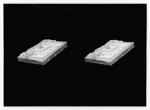 Dr. Shicks' models. Justinian's church and environs