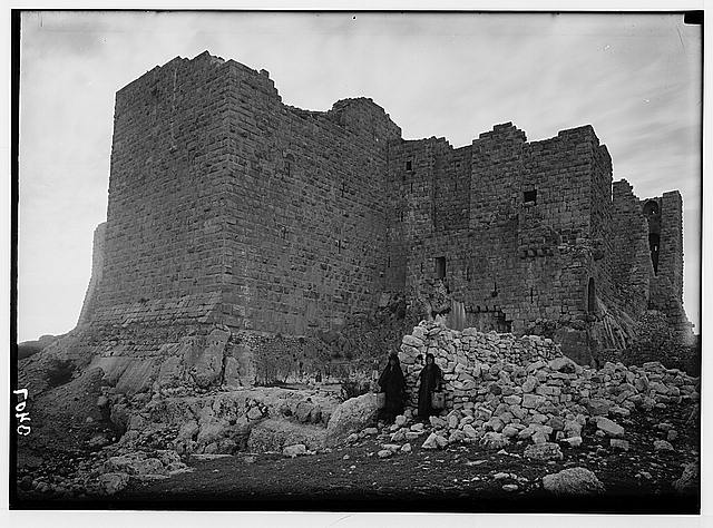 Ajlun district. Kalaat Er-Rabad. One of the castle towers
