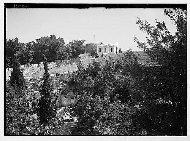 Pan. [i.e., panorama] of Garden Tomb