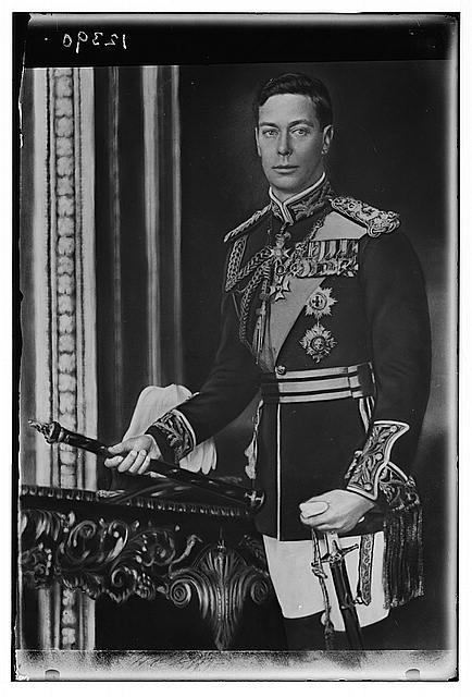 H.M. King George VI of England?