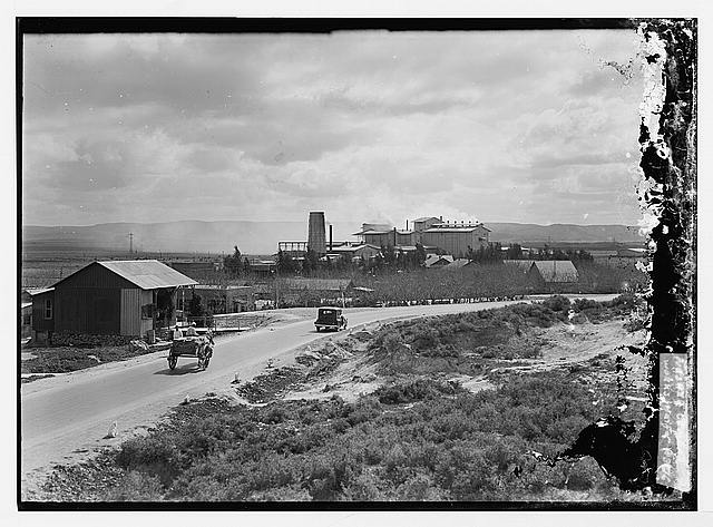 Nesher cement works, Haifa