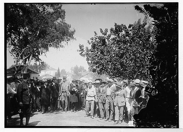 Balfour at Jewish colonies