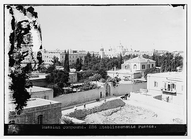 Russian compound, Jerusalem.