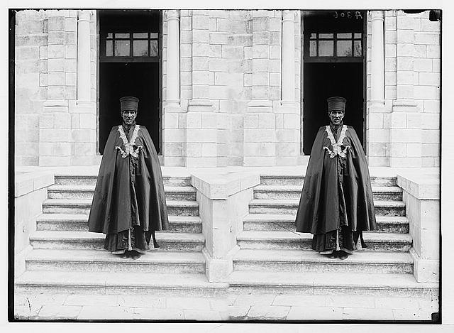 Costumes, characters, etc. Abyssinian bishop