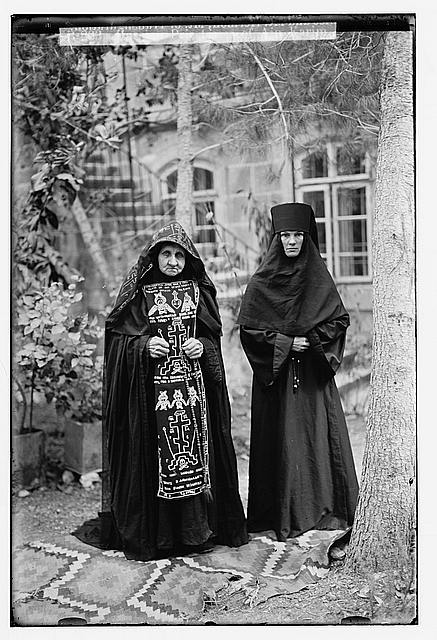 Various types, etc. Russian priestesses of Ain Karim.