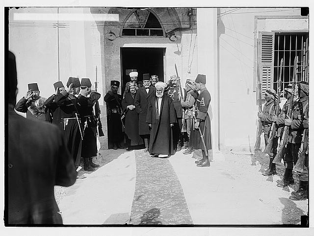 Sir Herbert Samuel's second visit to Transjordan, etc. H.M. King Hussein at Amman.