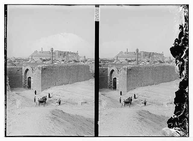[The citadel (castle), Aleppo]