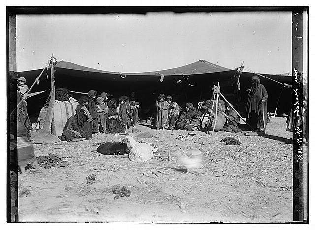 Camp near Madeba, Apr. 19, 1935
