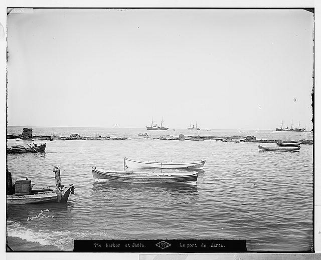Jaffa (Joppa) and environs. The harbor