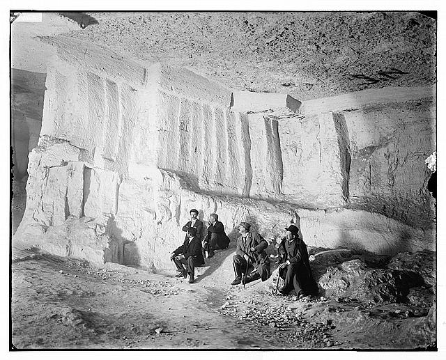 Jerusalem (El-Kouds). Solomon's Quarries