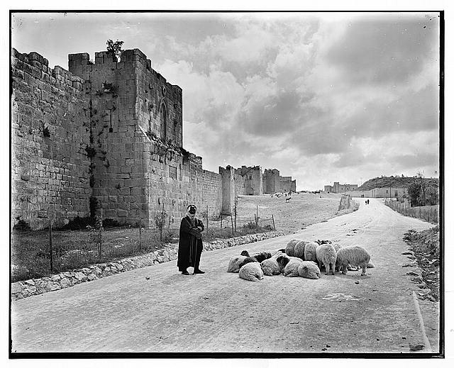 North wall toward Gordon's Calvary [Jerusalem]